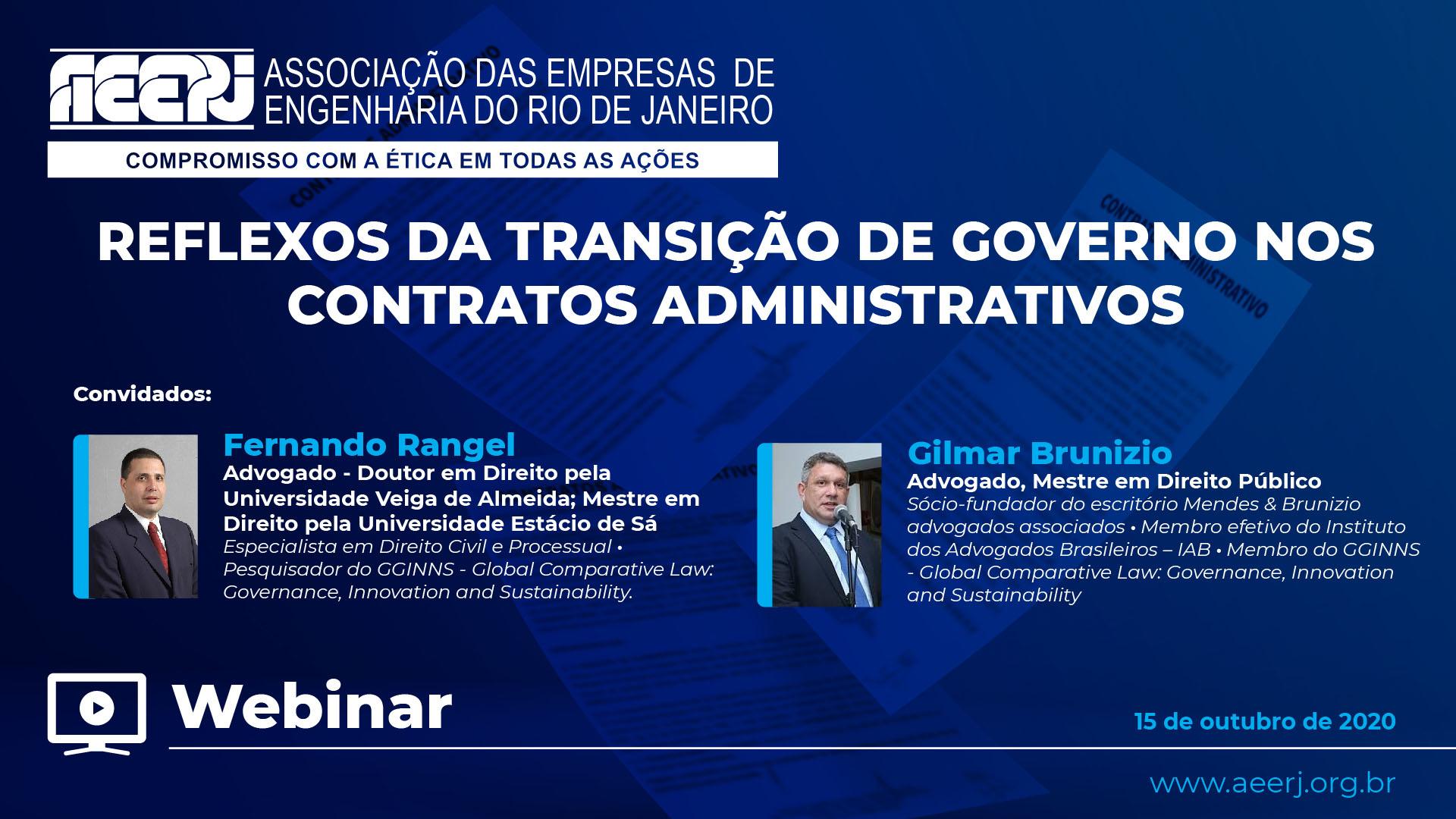 Reflexos da Transição de Governo nos Contratos Administrativos